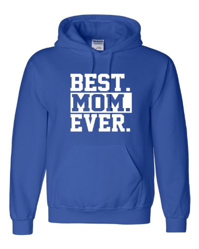 Xx-Large Royal Blue Adult Best Mom Ever #1 Mom World''S Best Mom Mother''S Day Hooded Sweatshirt Hoodie front-531181