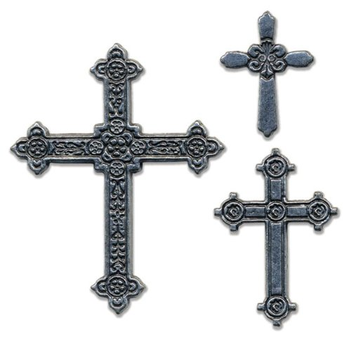momenta small metal icon antinque crosses arts