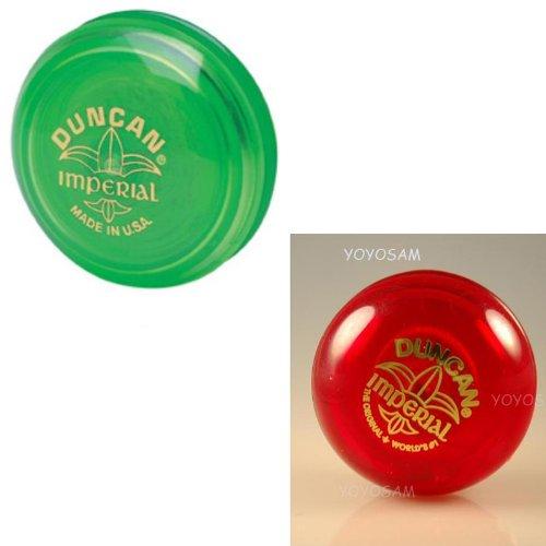 Duncan Imperial Yo-Yo 2-pack - Green/Red - 1