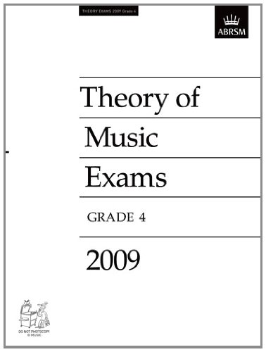 Theory of Music Exams, Grade 4, 2009 (Theory of Music Exam Papers & Answers (Abrsm)), Buch