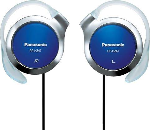 Panasonic クリップヘッドホン ブルー RP-HZ47-A