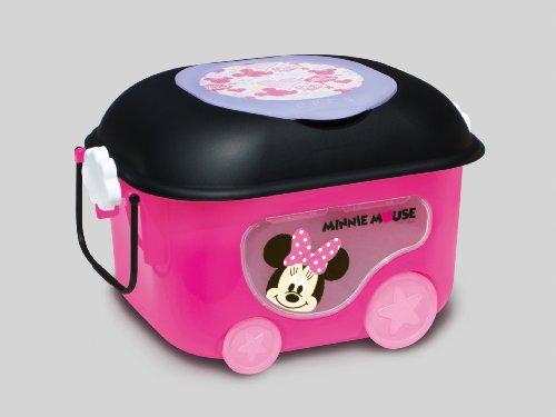 錦化成 ミニーマウス  窓付きおもちゃ箱