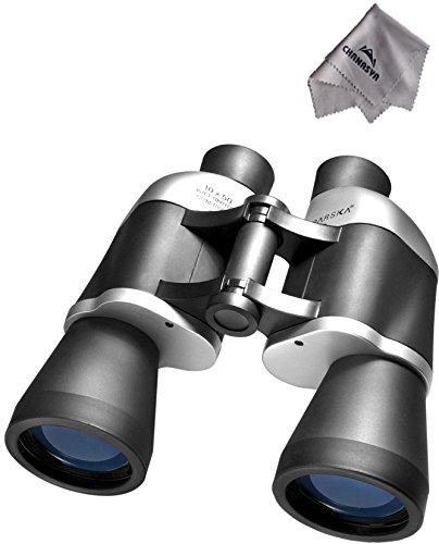 10X50 Focus Free Binoculars Ab10306 With Chanasya Polish Cloth Bundle