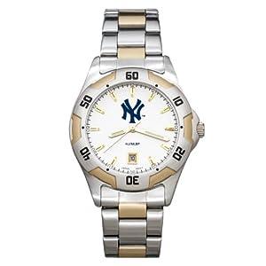 MLB New York Yankees Mens All-Pro Sports Watch by Logo Art