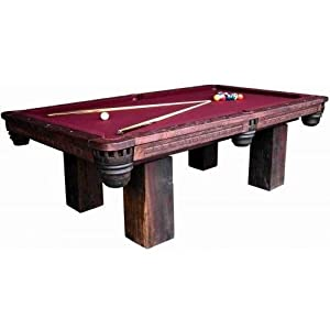 Timber Lodge Billiard Table (Natural) (32