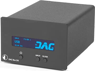 Pro-Ject - DAC Box DS - Digital to Analog Converter - Black