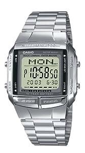 Casio - Vintage - DB-360N-1AEF - Montre Homme - Quartz Digitale - Cadran Gris - Bracelet Acier Argent
