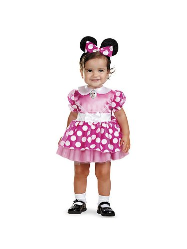 Disguise Baby's Disney's Mickey Mouse Minnie Mouse Costume
