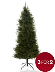 6ft Slim Luxury Natural Effect Fir