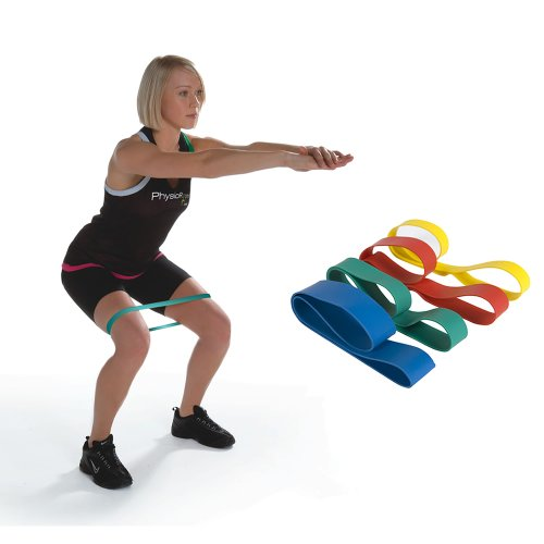 Resistance Bands Thigh Workout: PhysioRoom Resistance Band Exercise Thigh Loop