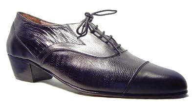 "Mythique Men's Tango Ballroom Salsa Latin Leather Dance Shoes Federico 6 M US"""