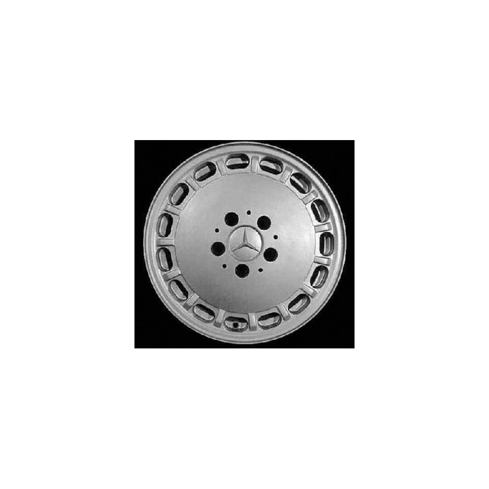 89 93 MERCEDES BENZ 300CE 300 ce ALLOY WHEEL RIM 15 INCH, Diameter 15, Width 6.5 (15 HOLE), MACHINED FINISH, 1 Piece Only, Remanufactured (1989 89 1990 90 1991 91 1992 92 1993 93) ALY65144U10