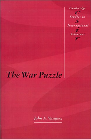 The War Puzzle (Cambridge Studies In International Relations) front-1004693