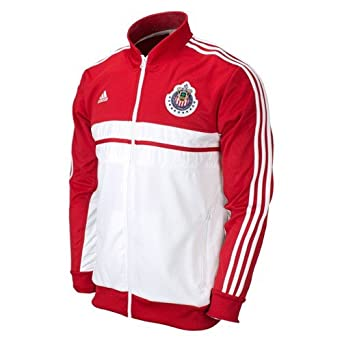 Amazon.com: ADIDAS CHIVAS DE GUADALAJARA ANTHEM JACKET: Sports