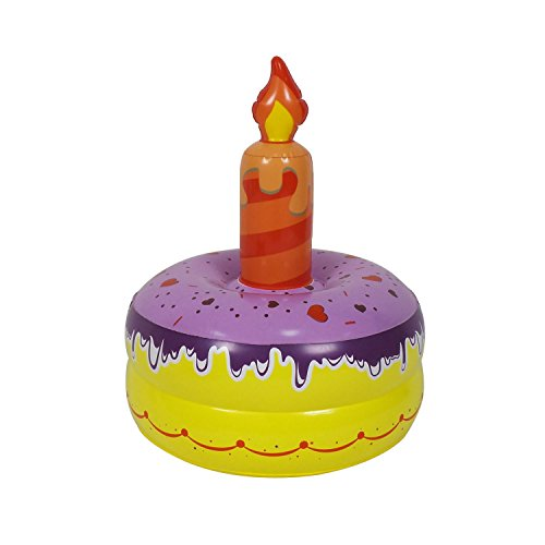 Jet Creations Inflatable Birthday Cake Ring Toss Sporting