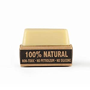 Fabric Wax : All Natural Water Repellent by Otter Wax : 2.25 oz Bar