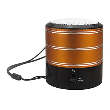 Rechargeable Portable Hi-Fi Stereo Usb Disk & Tf Card Mp3 Speaker With Fm (4W)