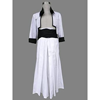CTMWEB Bleach Cosplay Costume - Grimmjow Arrancar 1st Ver Set Large
