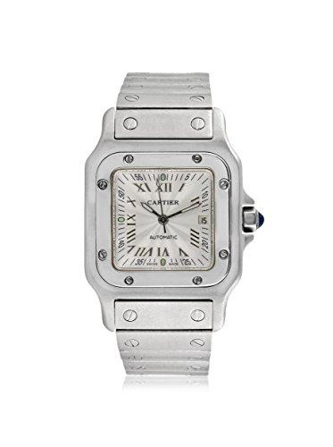 Cartier Men's Santos Galbee Silver/Stainless Steel Watch