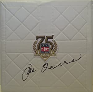 Joe Torre Autographed Signed 2014 Hall of Fame 75th Anniversary Logo Full Size Base,...