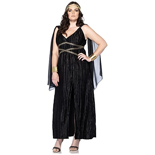 [GSG Goddess Costume Adult Egyptian Cleopatra Plus size Halloween Fancy Dress] (Plus Size Ballerina Costumes)
