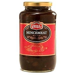 Crosse & Blackwell Mincemeat Regular: Two 29 oz jars