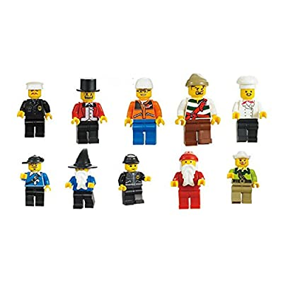 Mintoys ® Mini Figures Character Mini Men Cowboy,Pirate,Wizard & More - 20 Character Blundle Individually packed