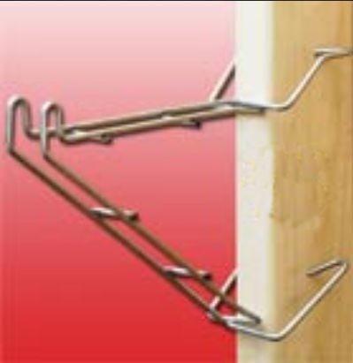 Angel Guard BHSB2 Bat Hook Instant Shelf Bracket (Bat Hook Shelf Bracket compare prices)
