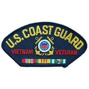 Coast Guard Retired Vietnam Veteran Hat Patch: Patio, Lawn & Garden