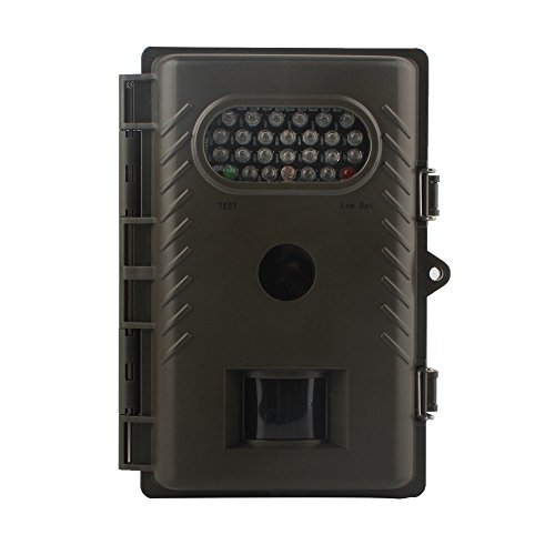 Physen Game Camera with 8MP Full-color Images, Day and Night Auto Trail Camera