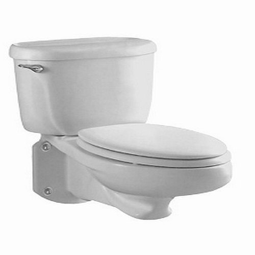 American Standard 2093 100 020 Glenwall Pressure Assisted Elongated Wall Mounted Toilet White