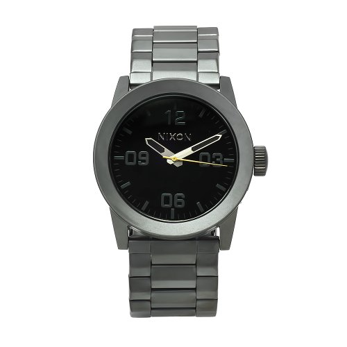 Nixon Marble Face: Nixon Men S A276 680 Stainless Steel Analog Grey Dial