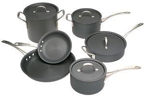 Calphalon Commercial Hard-Anodized 10-Piece Cookware Set