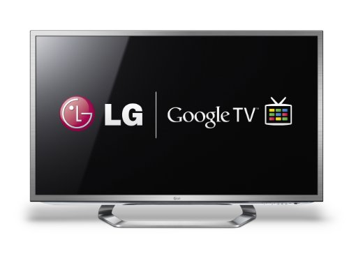 LG 47G2 47-Inch Cinema 3D 1080p 120Hz LED-LCD HDTV with Google TV and Six Pairs of 3D Glasses (2012 Model) (Lg Google Tv 47 compare prices)