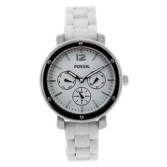 Fossil BQ9409 女士三眼不锈钢手表