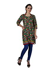 Enchanted Drapes Women's Straight Kurti - B010UMMA9G