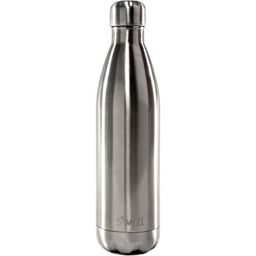 Swell 25 Ounce Stainless Steel Insulated Water Bottle in Silver Lining