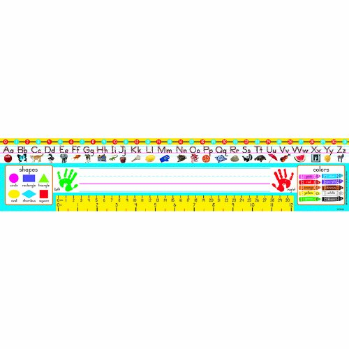 Desk Toppers® Reference Name Plates: Pre-kindergarten to Grade 1 (Zaner-Bloser) - 1