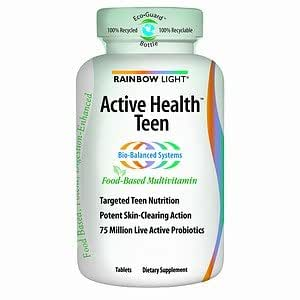 rainbow light active health teen multivitamin mineral 90 ea health. Black Bedroom Furniture Sets. Home Design Ideas