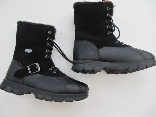 Lugz Yeti Hi Winter Duck Boot Little/boys Size 5 Black
