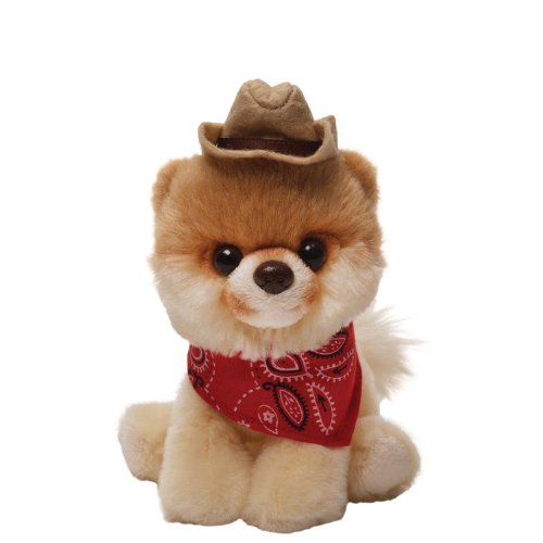 Gund Boo Plush in a Cowboy Hat - 1