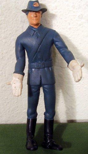 1966 Lakeside American Heroes Rubber Western Soldier Figure - 1