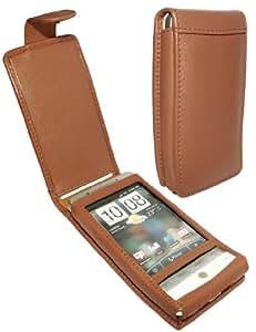 HTC Hero Leather Case (Tan)
