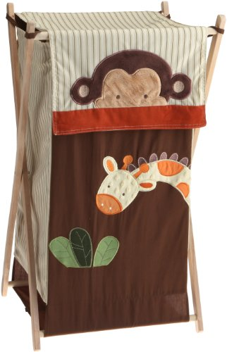 Buy Kids Line Jungle 123 Hamper, Brown
