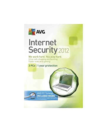 AVG Technologies AVG Internet Security + PC Tuneup 3user 2012 [Old Version]