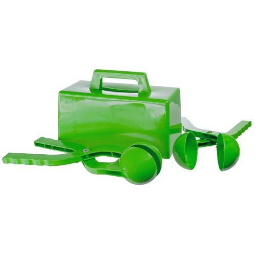 lucky-bums-durable-bola-de-nieve-y-juego-de-bloques-para-infantil-durable-verde-talla-unica