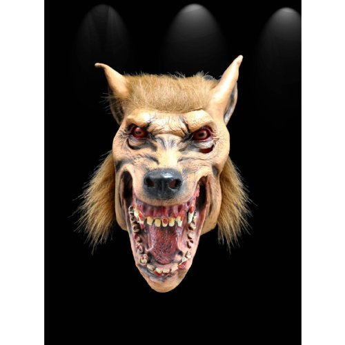 OM(TM) Halloween Creepy Adult Latex Wolf Masks Masquerade Costumes - Fancy Dress