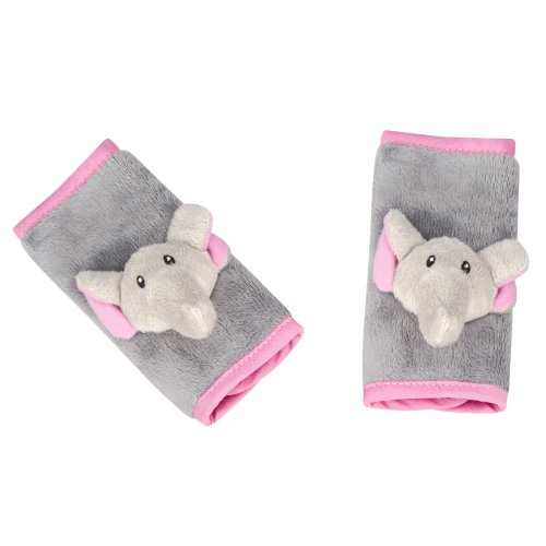 Animal Planet 2 Count Strap Covers, Elephant
