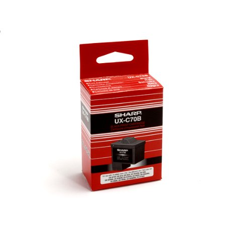 Sharp UX-C70B Black Ink Cartridge UX-B700 Fax (Sharp Cartridge compare prices)