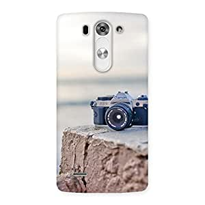 Delighted Vintage Camera Multicolor Back Case Cover for LG G3 Beat